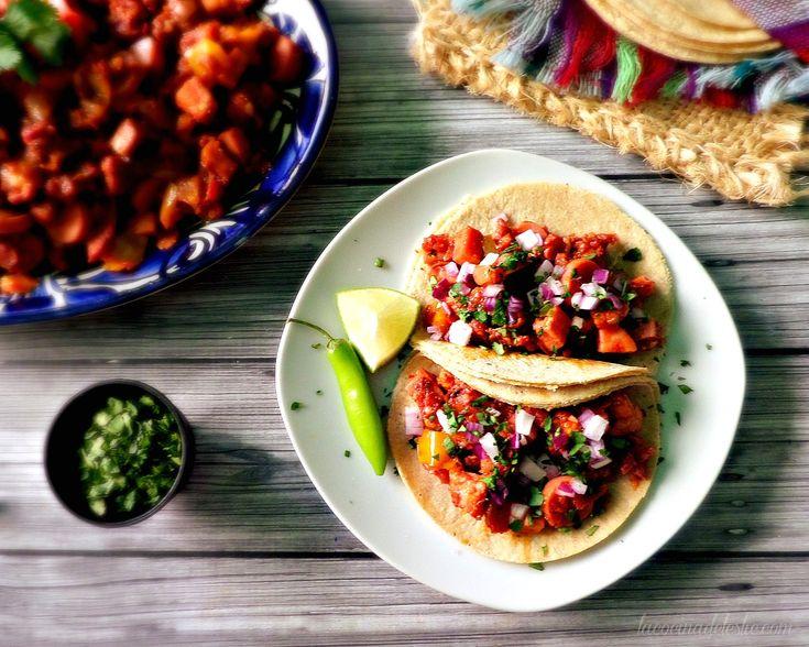 Tacos de Discada Norteña - lacocinadeleslie.com