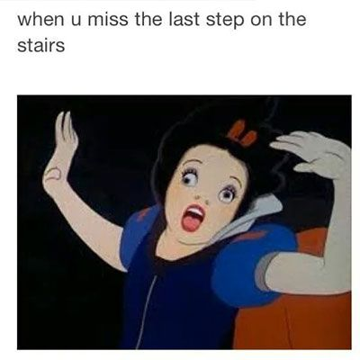 This happens all the time, then i try to play it cool or stare at the stairs like why did you trip me