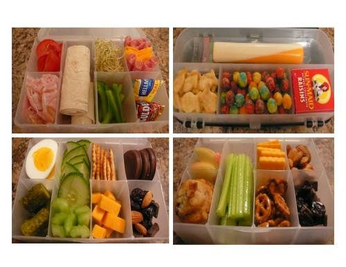 Ideas for packing adult lunches