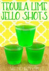 lime jello shots