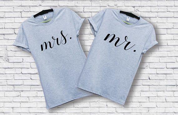 Couples t-shirt set / Couple t-shirt set / Couples shirts /