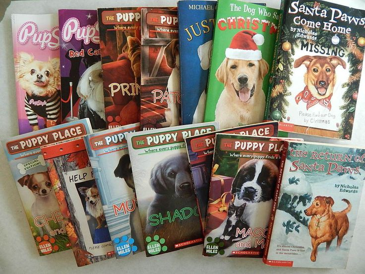 25% to ASPCA!! Lot 14 Dog Lover Children Books Puppy Place Pup Style Santa Paws Pet Finder Club