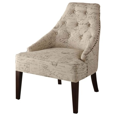 I pinned this Devonshire Accent Chair from the Wine Cellar event at Joss and Main!