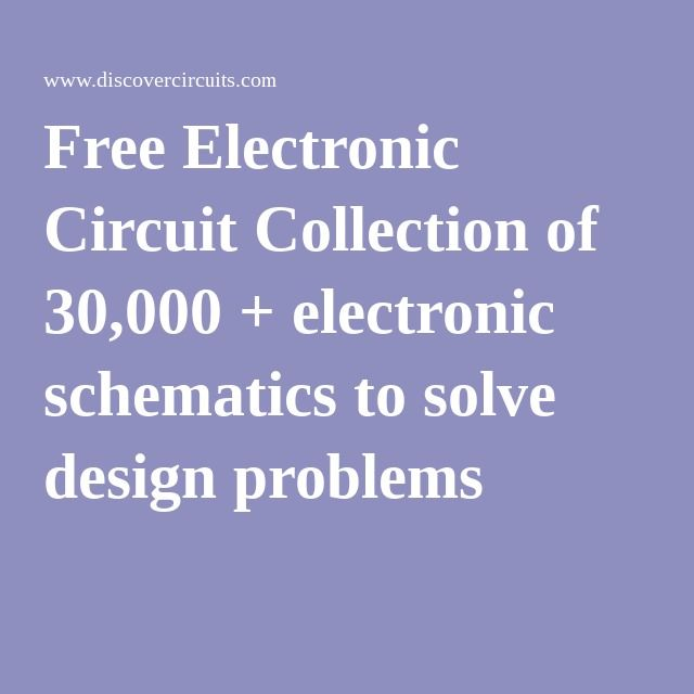 The 411 best Electronic schematics images on Pinterest   Electronic ...