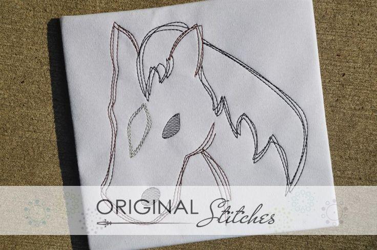 Horse - Quick Stitch, Machine Embroidery and Applique Designs Downloads | Original Stitches - Embroidery and Applique Design Store
