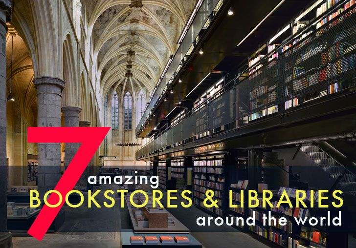 7 Amazing Green Bookstores and Libraries from Around the World