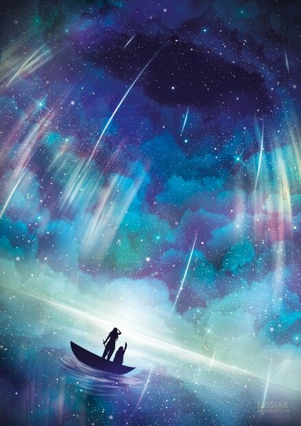 Anime Night Sky: 295 Best Images About Anime Night Sky On Pinterest