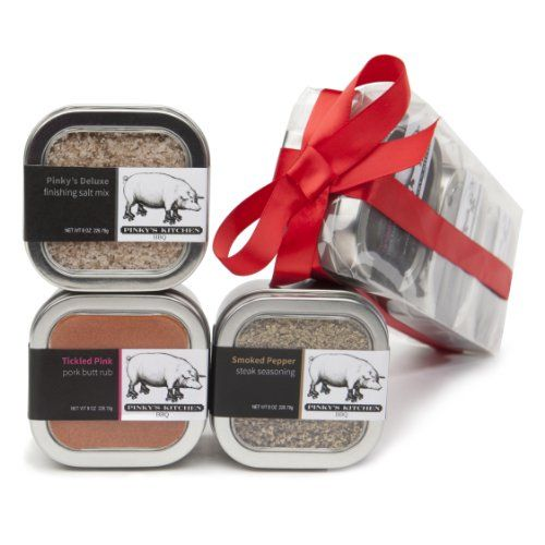 3 Pack Pinky's Kitchen Gift Set Variety Gourmet Spice Blends (8 oz each) - http://spicegrinder.biz/3-pack-pinkys-kitchen-gift-set-variety-gourmet-spice-blends-8-oz-each/