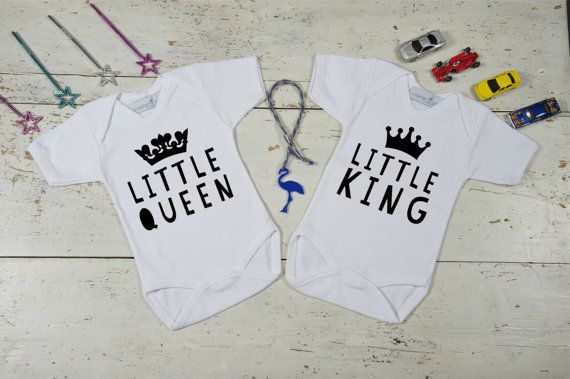 Onesies for Twins Twins Twins Gifts Boy/Girl by MissFlamingoKids