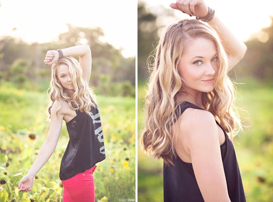 sunflower fields forever :: editorial photo shoot with caroline