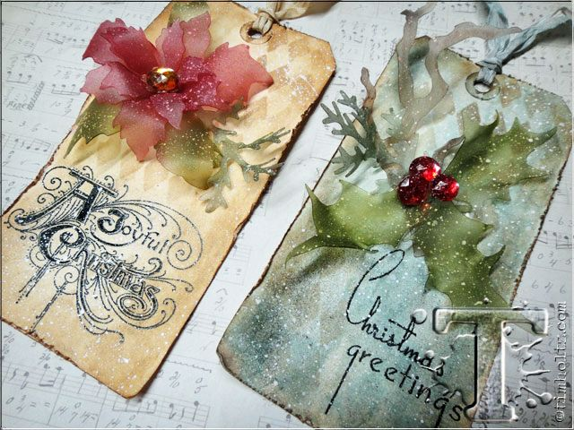 created by tim holtz, using clearly for art  http://timholtz.com/wp-content/uploads/2013/11/DSC07232.jpg