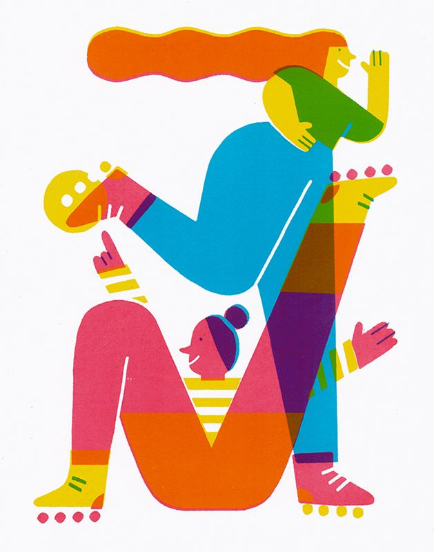 #anaseixas #illustration #newdivision #digital #character #rollerskates