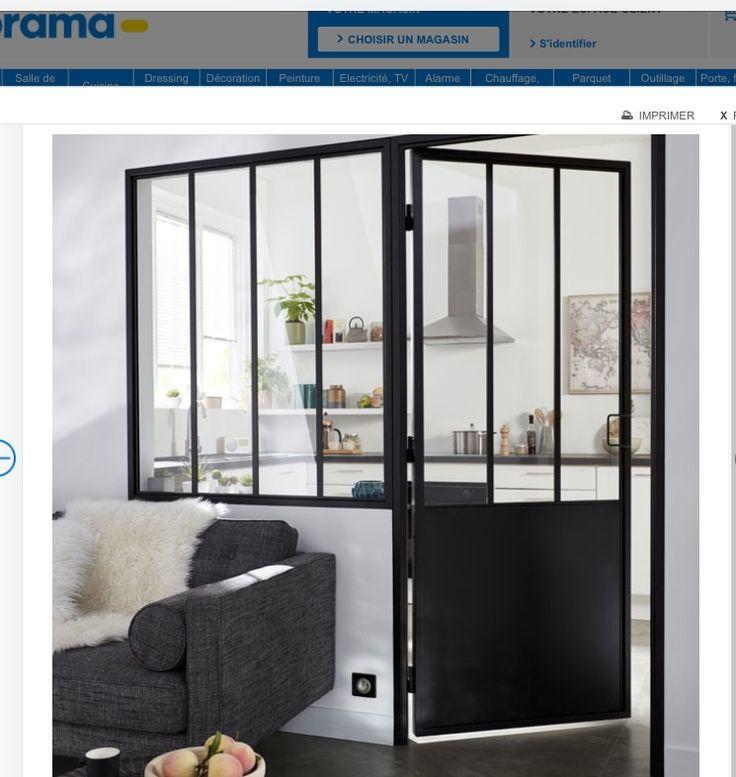 45 best verri res d 39 atelier cloisons l g res portes coulissantes images on pinterest. Black Bedroom Furniture Sets. Home Design Ideas