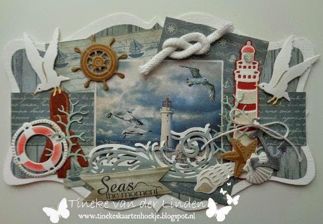 Tineke's kaartenhoekje: Seas the moment