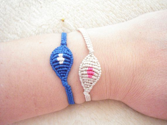 Evil eye bracelet Micromacrame jewelry Evil eye by Poppyg on Etsy
