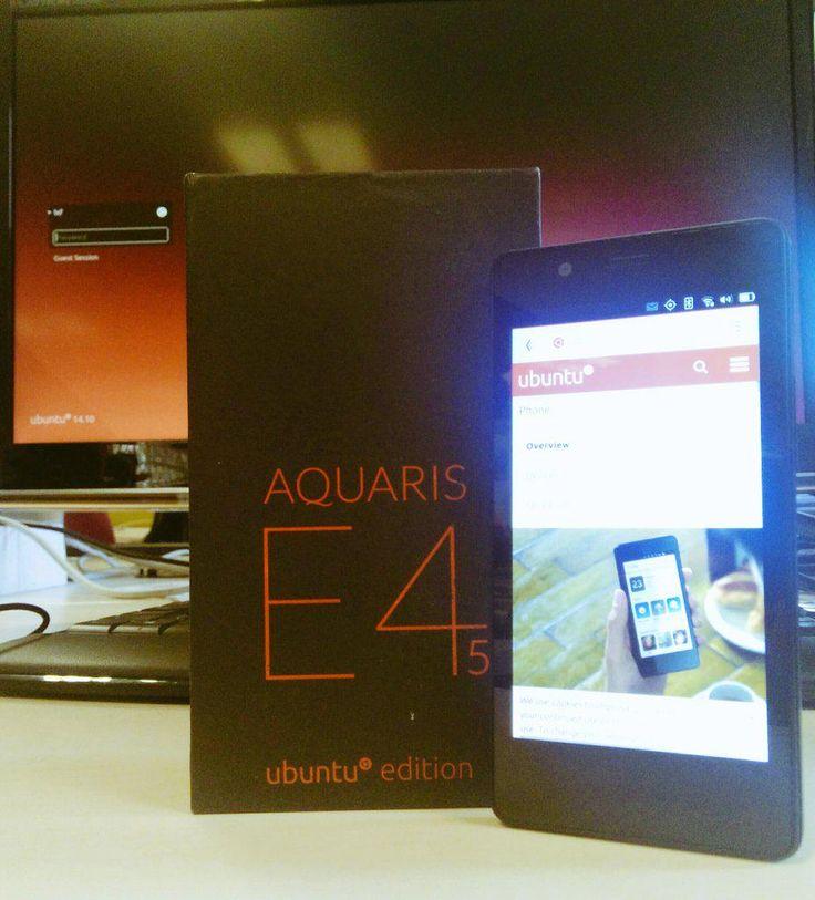 Ubuntu Phone - Bq Aquaris E4.5