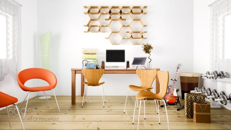 Modern Interior - my latest interior work with 3dsmax and fstorm render.    #fstorm #3dsmax #interior #artofprinceabid