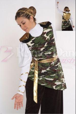 Camoufloge Tunic w/Back Shield and Sache