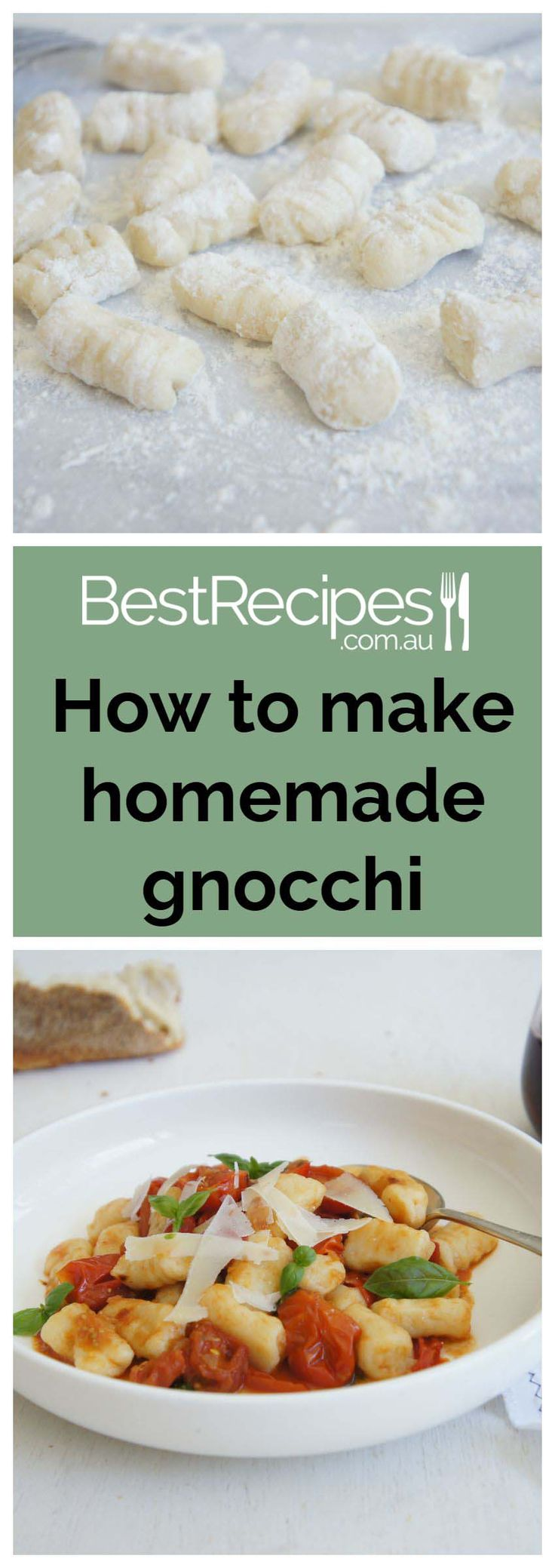 How to make home-made potato gnocchi. A traditional Italian favourite dish that's easier to make than you think.