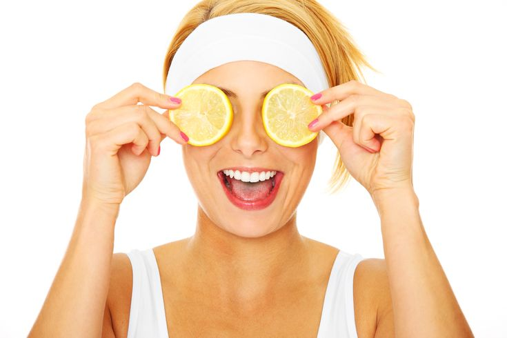 Limone per le occhiaie