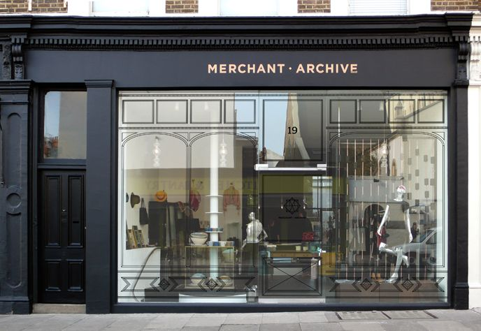 Logo rebranding for Merchant Archive, an independent lifestyle store which specializes in beautiful vintage contemporary clothing accessories.