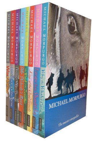 Michael Morpurgo Collection Childrens 8 Books Set Boxed (King of the Cloud Forests, Escape from Shangri-La, Why the Whales Came, Kensuke's Kingdom, Long Way Home, The Wreck of the Zanzibar, Mr Nobody's Eyes and War Horse) by Michael Morpurgo http://www.amazon.co.uk/dp/B006OM2NYY/ref=cm_sw_r_pi_dp_yFD2ub1JH2N7D