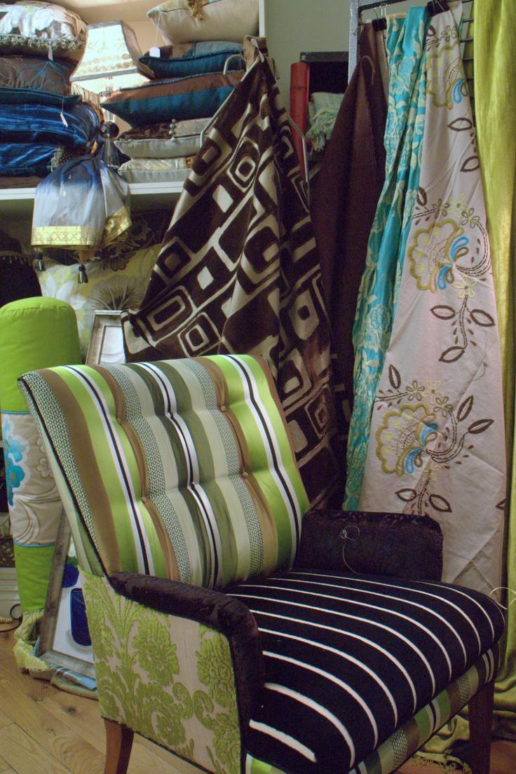 repurposed vintage furniture from designers guild fabric. Black Bedroom Furniture Sets. Home Design Ideas
