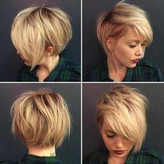 114 magnifiques photos de coiffure courte! – francoise pecard