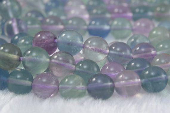 fluorite,8mm round bead,rainblow fluorite,multi color beads,jewelry bead,stone bead