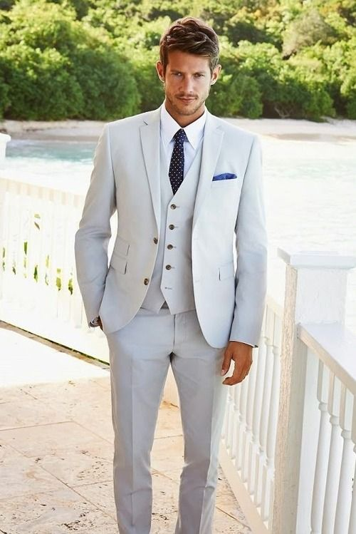 Men'S Suit Summer Wedding Dress Yy