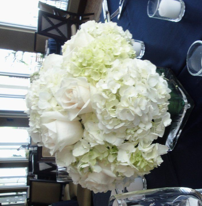 Centrepiece using bulk costco flowers                                                                                                                                                                                 More