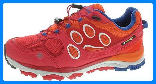 Jack Wolfskin Trail Excite Tex Low W Size 5.5, Color rot - Sportschuhe für frauen (*Partner-Link)