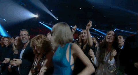 Taylor Swift Danced The Night Away At The Grammys (Duh)