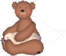 Tammy on Teddy Bears lap