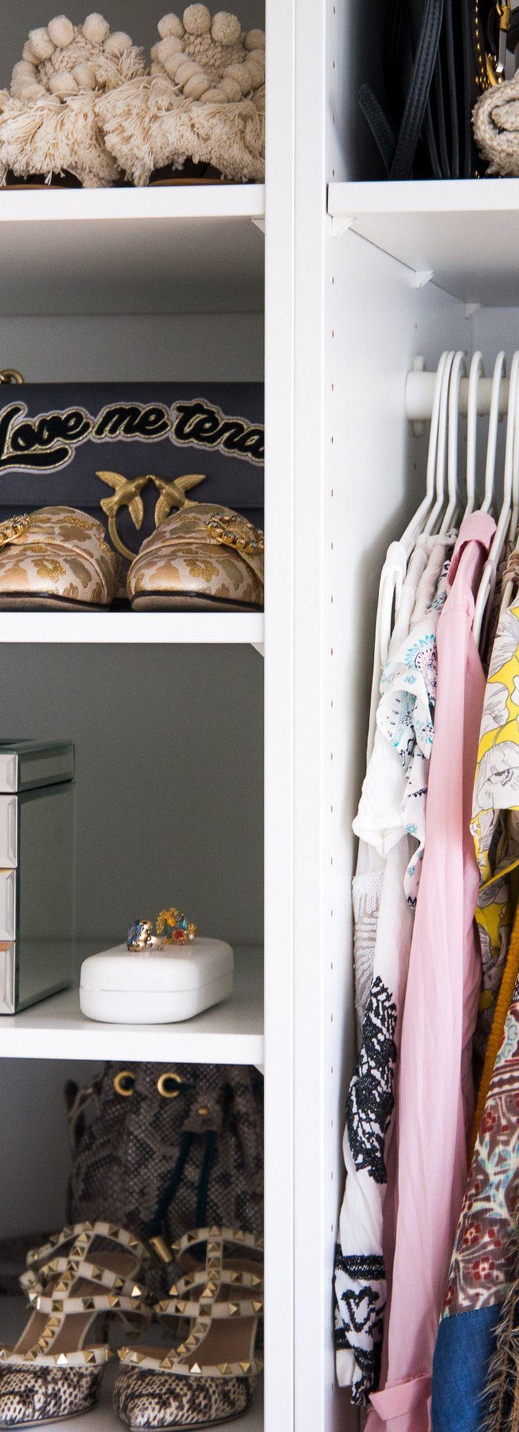 Schuh Sammlung / offener Kleiderschrank / Pax Ikea / Walk-In Closet