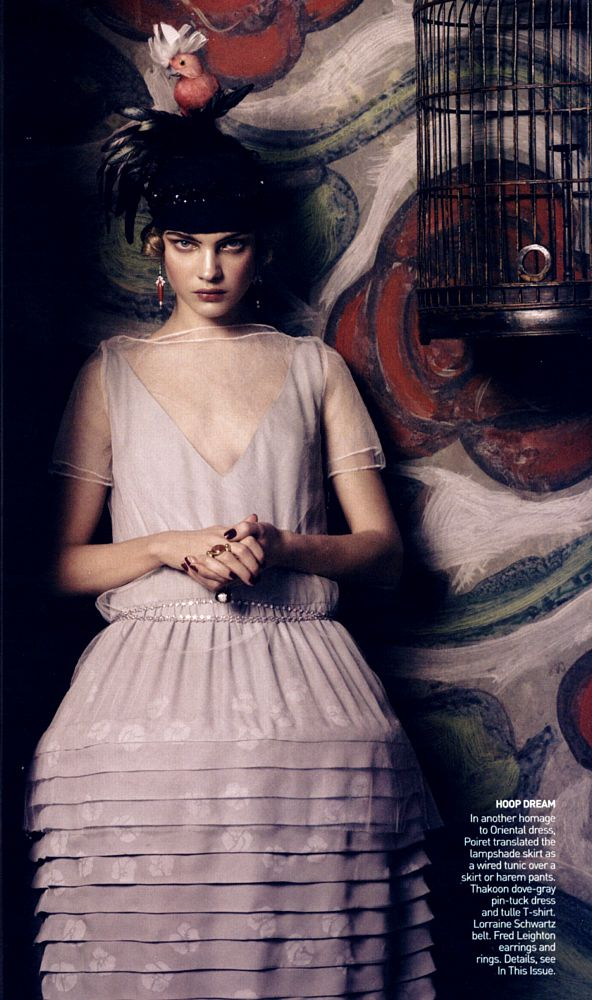 Fashioning the Century by Steven Meisel    with Natalia Vodianova