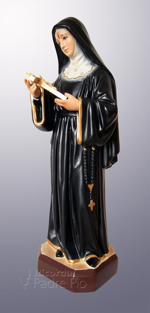 Statua Santa Rita 30cm in resina