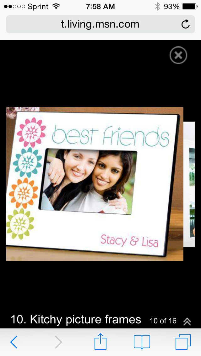 Enchanting Personalized Best Friend Picture Frames Collection ...