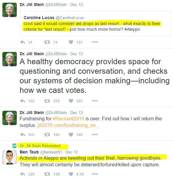 "NotMyPresident on Twitter: ""THREAD DR JILL STEIN AND RUSSIA."""