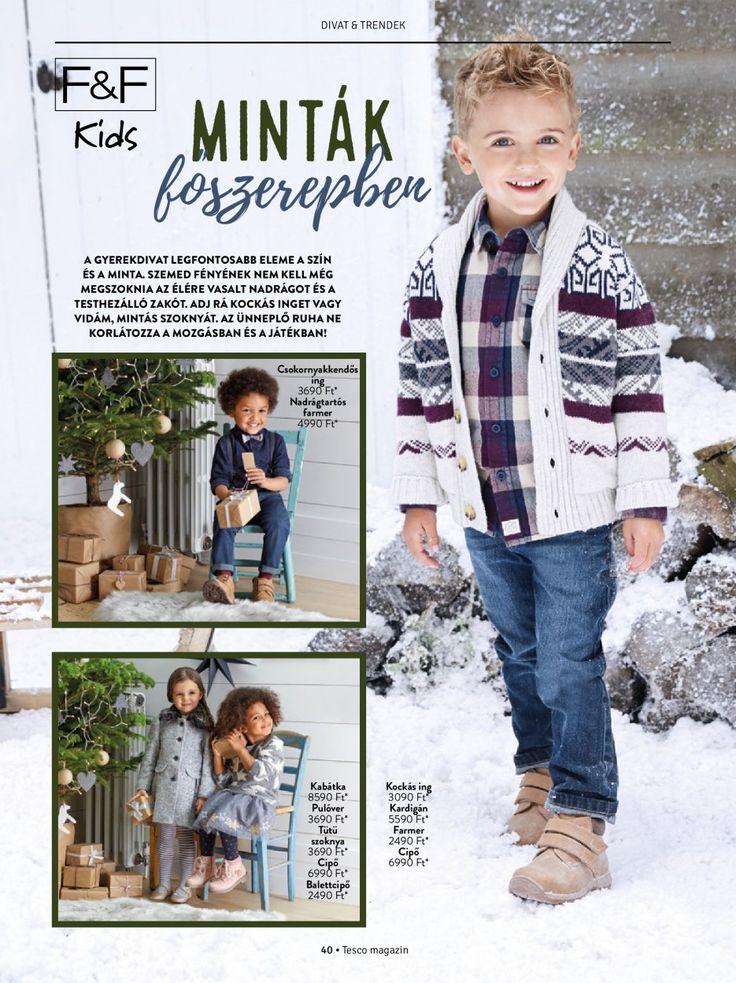 Gyerek ruházat #gyerek #divat #ruha #lany #fiu #tescomagyarorszag
