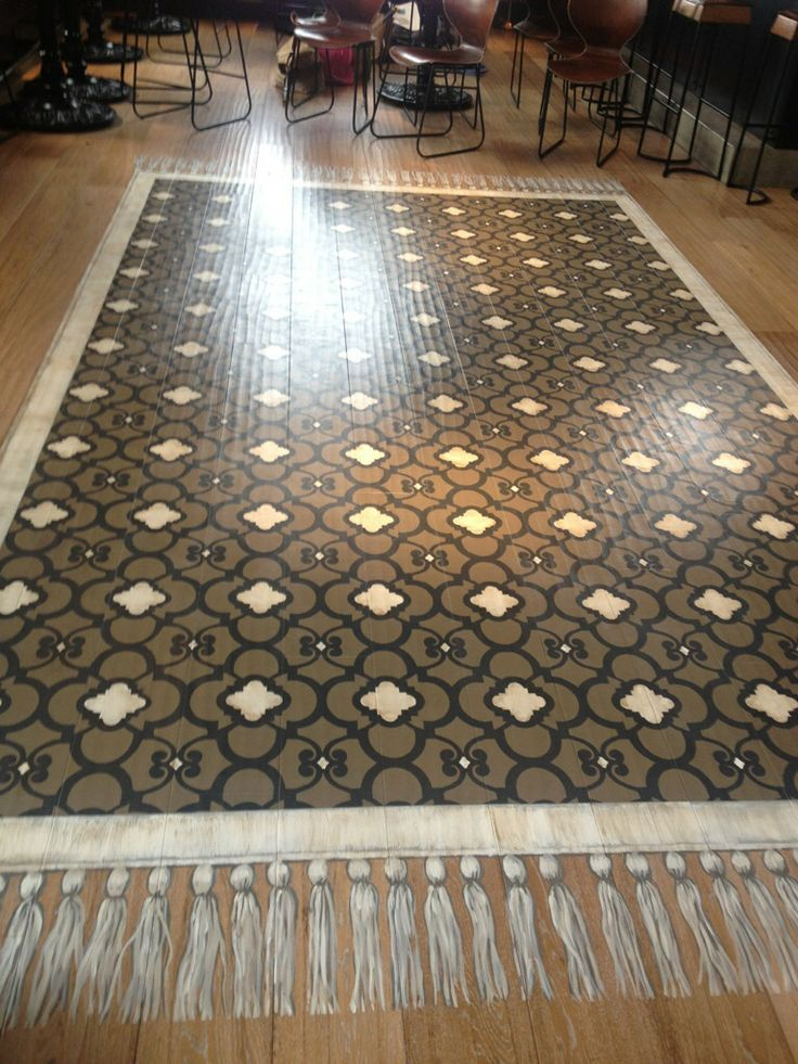 333 Best Stenciled Amp Painted Floors Images On Pinterest