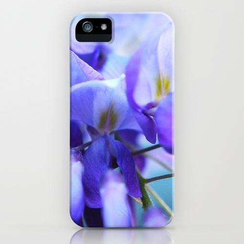 Wisteria Blues iPhone Case