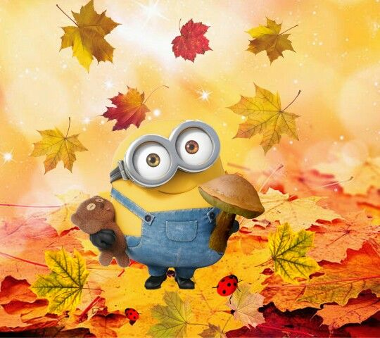 I'm Bob, that's Tim.....you know the whole truth Leavestory about autumn Fall Time Minion now....meine Art vonMinion language.....Tadaaaaaa