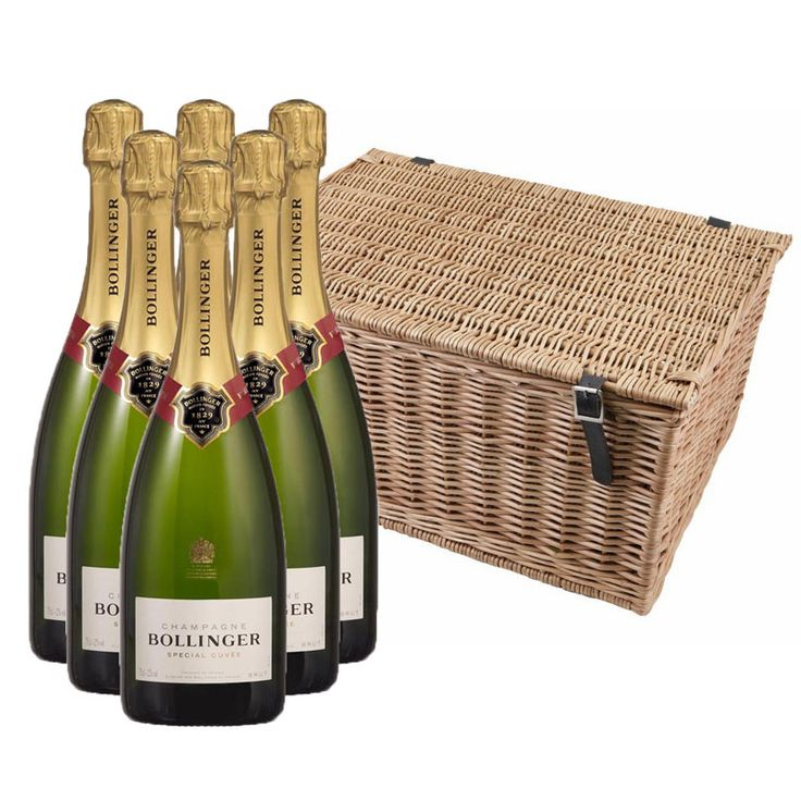 View Bollinger Special Cuvee Case In a Hamper (6x75cl)