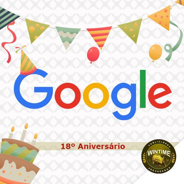 E hoje o nosso buscador preferido, Google, completa seu 18º aniversário. Foi em 27 de setembro de 2005 que o site efetivamente entrou em funcionamento.  Mas, seu domínio foi registrado sete anos antes, em 1998, pelos estudantes da Universidade de Stanford, Larry Page e Sergey Brin. 🎈🎉🔍