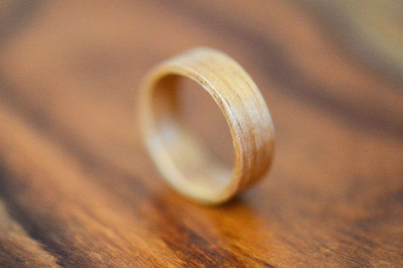 Tasmanian Blackwood Bentwood Ring - Size 9