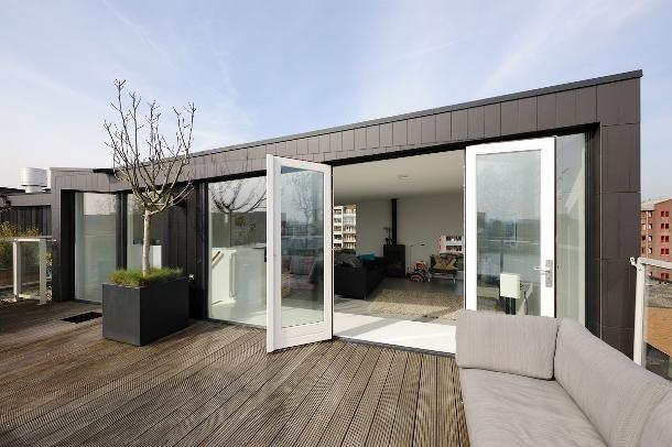Drie dakopbouwen in Amsterdam - alle projecten - projecten - de Architect
