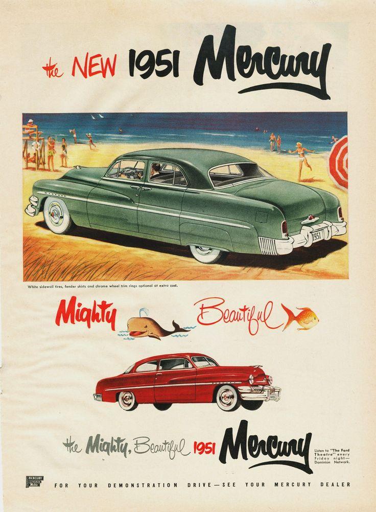 1951 Mercury Ad (Cdn) 02 · Vintage CarsMercuryFamily ...