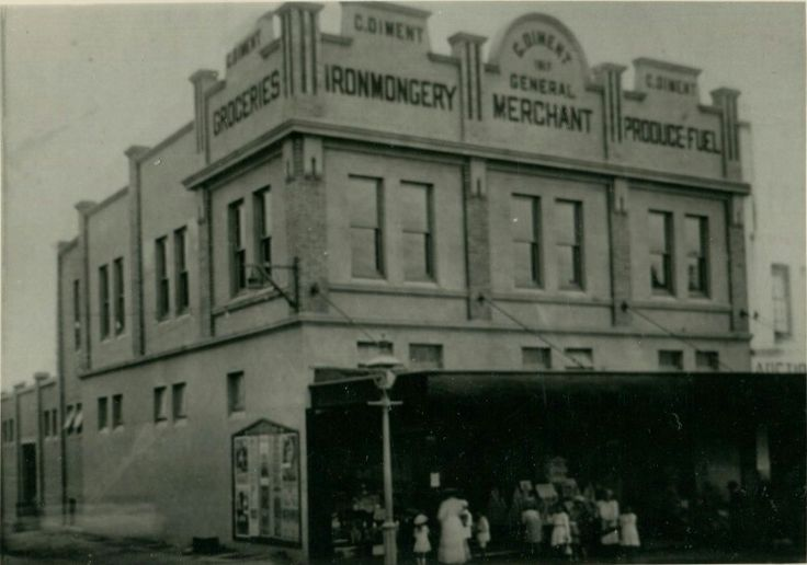 Diment Store on Forest Rd,Hurstville in the southern suburb of Sydney.Closed in 1961.  •Hurstville Council•      Diments had done its dash by 1961, and the 40-year-old business was liquidated that year. corner of Forest Road