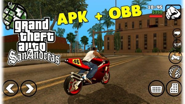 GTA SA Lite Android Mod Apk Obb Data Download | Android